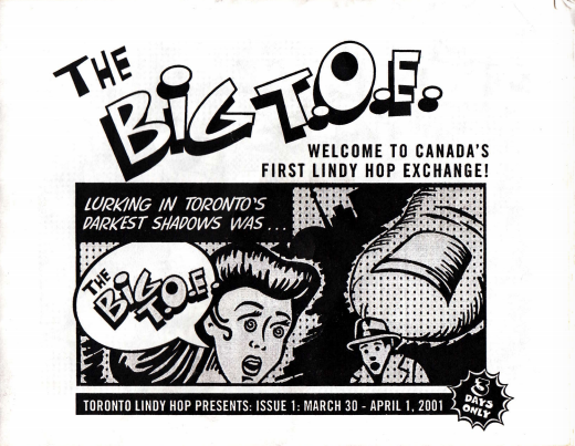 Toronto Lindy Hop 2000 Archive from Charles Levi + great scanned items from The Big T.O.E.!